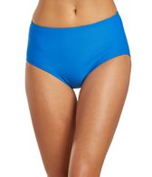 Beach House Swimwear Solid High Waisted Bikini Bottom