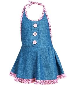 Hula Star Denim Doll Dress (2T-6X)