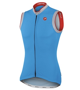 Castelli Men's GPM Sleeveless Full Zip Cycling Jersey