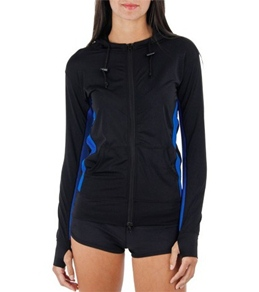 Sporti Zip Hooded Rashguard
