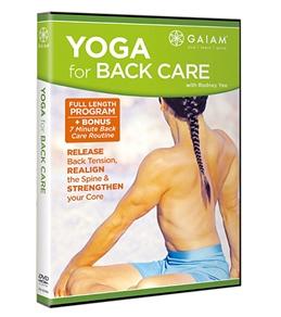 Gaiam Yoga Back Care DVD