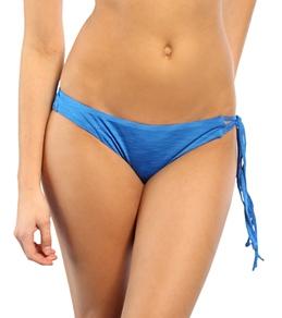 Hurley Swim Girls' Royal Asymmetrical Tie Side Bottom