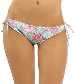 Hurley Swim Girls' Every Rose Tie Side Bottom