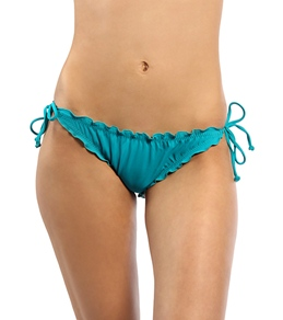 Hurley Swim Girls' One & Only Solids Tie Side Bottom
