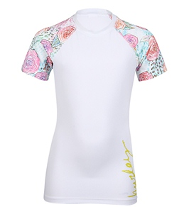 Hurley Youth Girls' Every Rose Rash Guard (7-14)