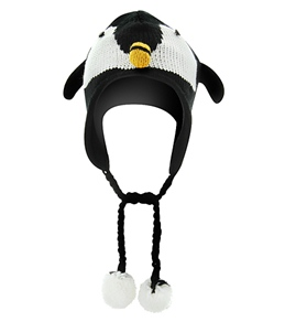 ClubSwim Knitted Penguin Hat