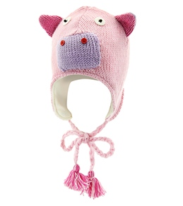 ClubSwim Knitted Pig Hat