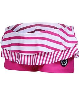 Roxy Youth Girls' Roxy Shoreline Ruffle Lycra Shorts (7-16)