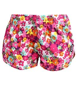 Roxy Teenie Wahine Daisy Gypsy Sunscape Boardshorts (4T-6)
