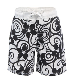 Beach Rays Toddler Boys' Floral Boardshorts