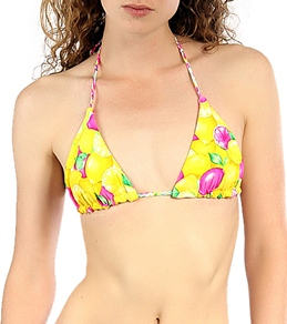 B.Swim Lemonhead Itty Bitty Reversible Triangle Top