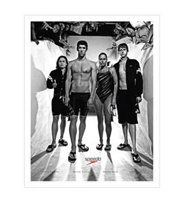 Speedo Swim Fans Group Poster