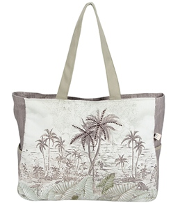 Sun N Sand Tropic Palms Oversized Tote