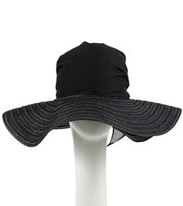 Sun N Sand Felicia Chiffon Scarf Toyo Hat