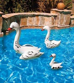 "Poolmaster 28"" Swan Pool Decor"