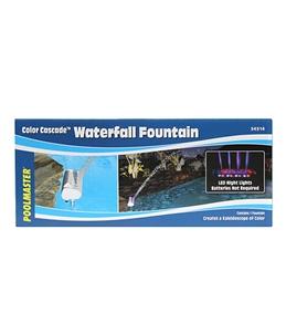 Poolmaster Color Cascade Waterfall Fountain