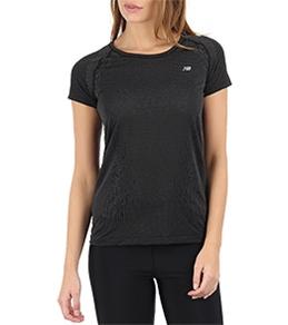 New Balance Women's NBx Minimus Short Sleeve Running Top