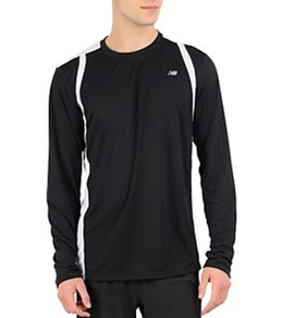 New Balance Men's NP Long Sleeve Running Top