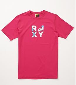 Roxy Youth Girls' Check Mate S/S Surf Shirt