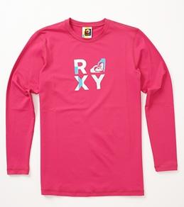 Roxy Youth Girls' Check Mate L/S Surf Shirt