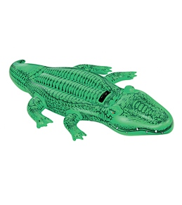 Intex Giant Gator Ride-On Inflatable Float