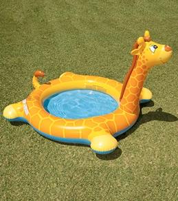 Intex Giraffe Spray Inflatable Pool