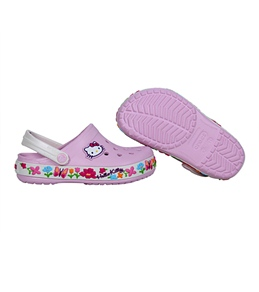 Crocs Girls' Hello Kitty Crocband