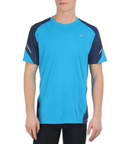 New Balance Men's Short Sleeve Icefil Running Top