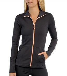 The North Face Women's Tadasana VPR Print FZ Long Sleeve Yoga Top