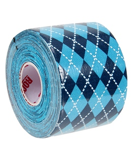 Rock Tape Blue Argyle 2""