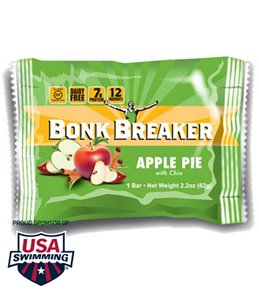 Bonk Breaker Apple Pie with Chia Seed Energy Bars (Box of 12)