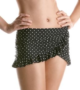 Jantzen Pretty Pin Dot Dotty French Curve Swim Skirt