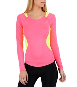 Brooks Women's Nightlife Equilibrium Long Sleeve Running Top