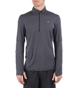 Brooks Men's Essential Long Sleeve Running 1/2 Zip II