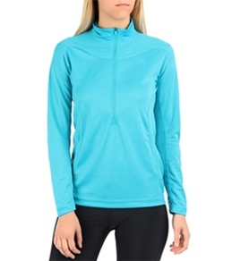 Adidas Outdoor Women's Terrex Swift Long Sleeve Running Half Zip