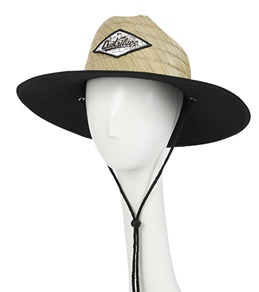 Quiksilver Waterman's Reefer Straw Lifeguard Hat