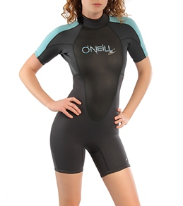O'Neill Women's Bahia S/S 2/1MM Spring Wetsuit