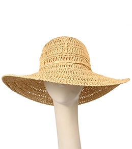 Billabong Girls' Sun Shadow Straw Hat