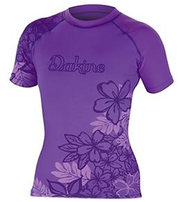 Dakine Girls' Paradise Floral S/S Rashguard