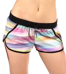 Rip Curl Girls' Mirage Cinematic Stripe Boardshorts