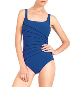 Gottex Ray of Light Square Neck One Piece