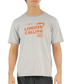 Oiselle Men's London Calling Running Tee