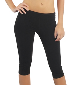MPG Women's Essential Knee Length Yoga Tight