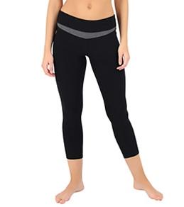 MPG Women's Endorphin 3/4 Length Running Capri Tight