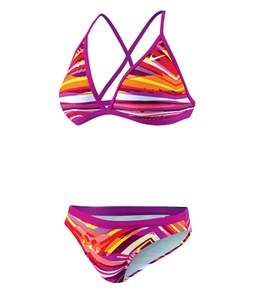 Nike Women's Rio Geo Convertible Halter 2PC