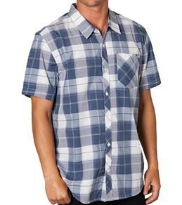 O'Neill Guys' Moran Plaid S/S T-Shirt