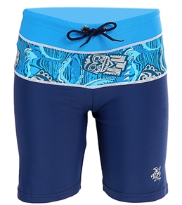 Tuga Boys' South Swell Tiki Toss Lycra Shorts