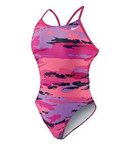 Nike Women's Painted Camo Cut Out Tank