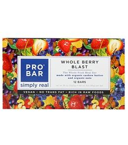 PROBAR Organic Whole Berry Blast Meal Bars (Box of 12)