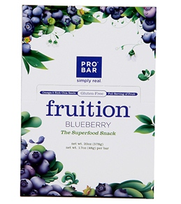 PROBAR Gluten-Free Blueberry Snack Bars (Box of 12)